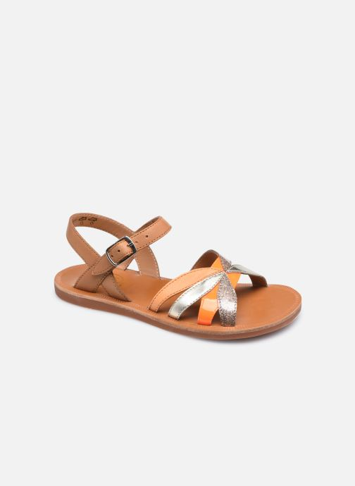 Sandali e scarpe aperte Pom d Api Plagette Reverse Marrone vedi dettaglio/paio