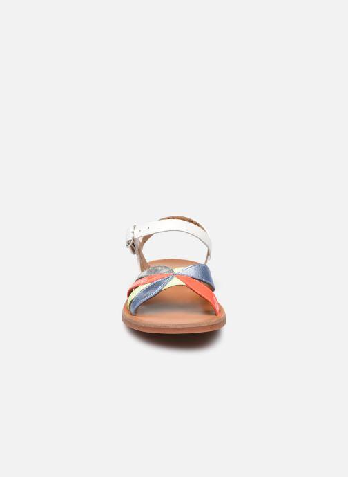Sandali e scarpe aperte Pom d Api Plagette Reverse Bianco modello indossato