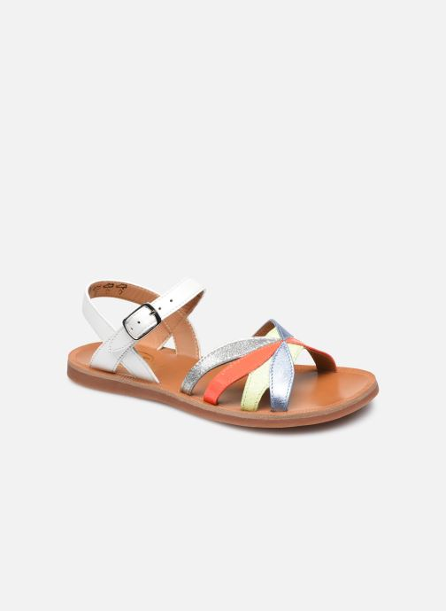 Sandali e scarpe aperte Pom d Api Plagette Reverse Bianco vedi dettaglio/paio