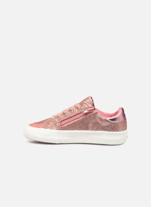 Sneakers Victoria Deportivo Glitter Fino 2 Roze voorkant
