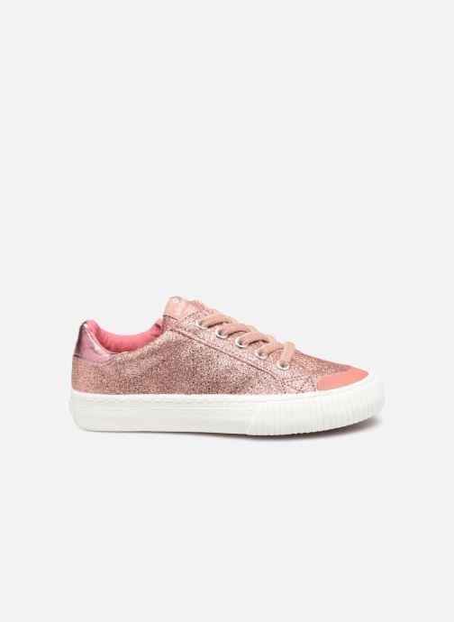 Sneakers Victoria Deportivo Glitter Fino 2 Roze achterkant