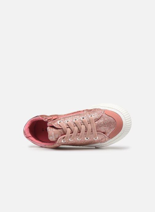 Sneakers Victoria Deportivo Glitter Fino 2 Roze links