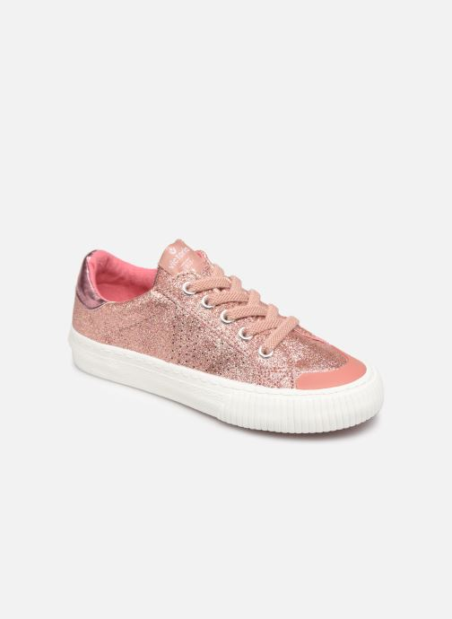 Baskets Victoria Deportivo Glitter Fino 2 Rose vue détail/paire