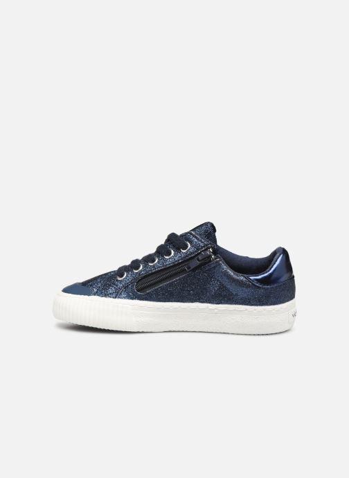 Sneakers Victoria Deportivo Glitter Fino 2 Azzurro immagine frontale