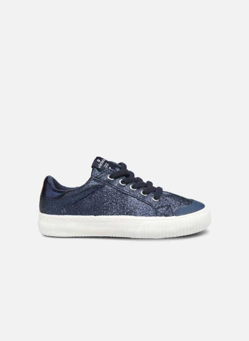 Sneakers Victoria Deportivo Glitter Fino 2 Azzurro immagine posteriore
