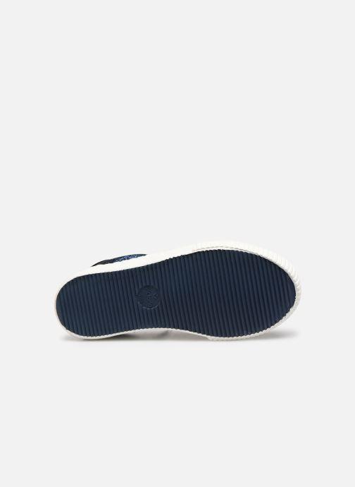 Sneakers Victoria Deportivo Glitter Fino 2 Azzurro immagine dall'alto