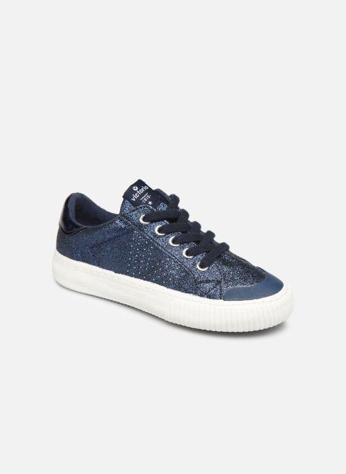 Sneakers Victoria Deportivo Glitter Fino 2 Azzurro vedi dettaglio/paio