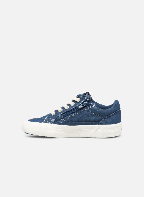 Sneakers Victoria Tribu Lona Retro Azzurro immagine frontale
