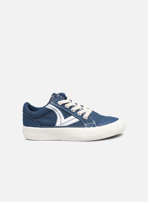 Sneakers Victoria Tribu Lona Retro Azzurro immagine posteriore