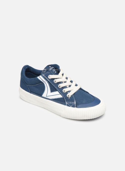 Sneakers Victoria Tribu Lona Retro Azzurro vedi dettaglio/paio