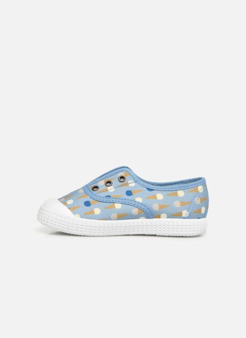 Sneakers Victoria Inglesa Helados Azzurro immagine frontale