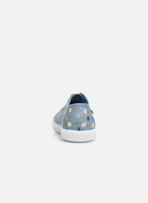 Sneakers Victoria Inglesa Helados Azzurro immagine destra