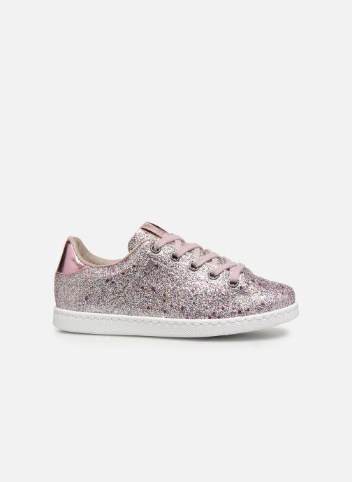 Sneakers Victoria Tenis Glitter Cristal Argento immagine posteriore