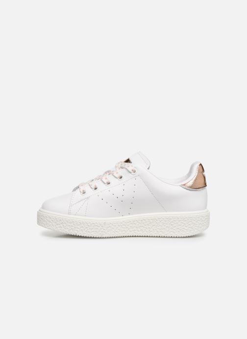 Sneakers Victoria Utopía Relieve Estrella Wit voorkant