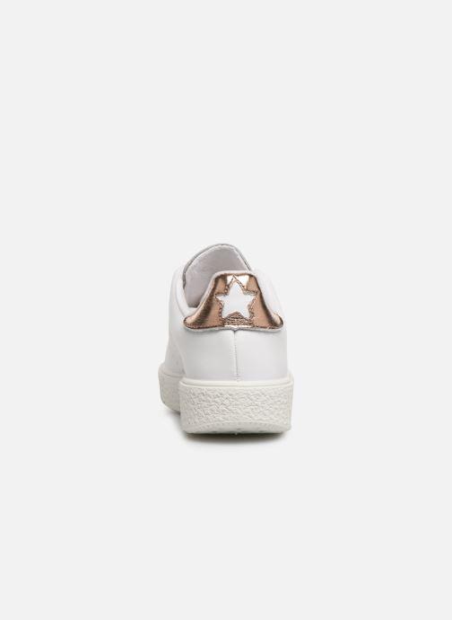 Sneakers Victoria Utopía Relieve Estrella Bianco immagine destra