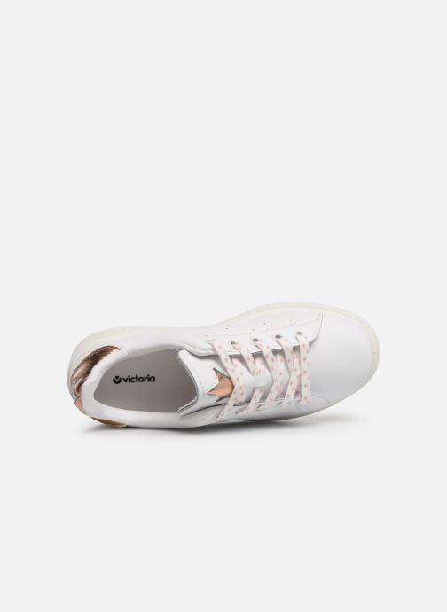 Sneakers Victoria Utopía Relieve Estrella Bianco immagine sinistra