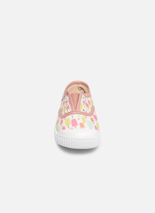 Baskets Victoria Inglesa By Jessica Niels Rose vue portées chaussures