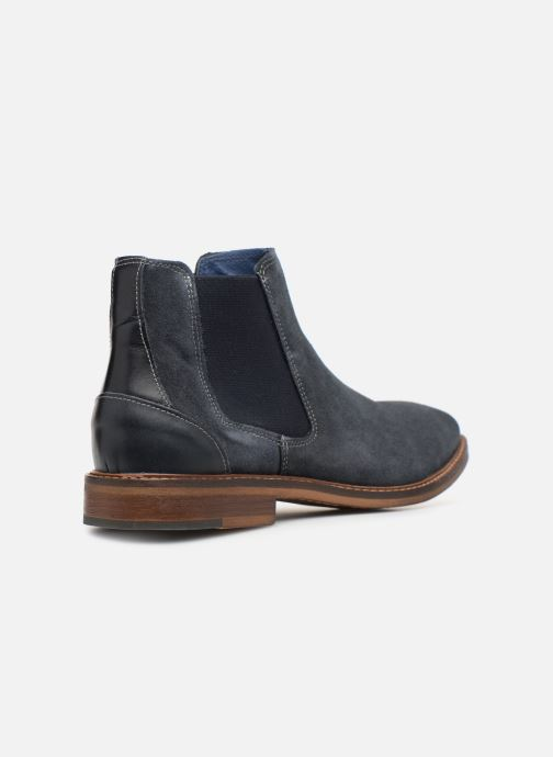 Bottines et boots Mr SARENZA Woona Bleu vue face