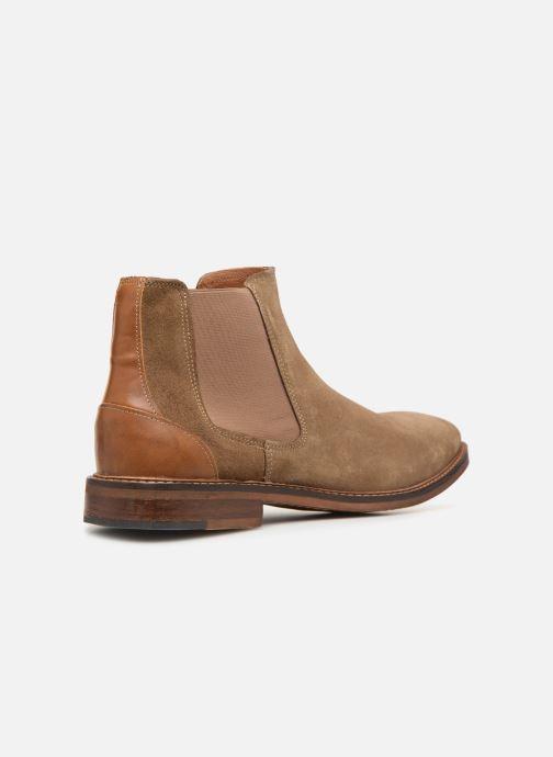 Bottines et boots Mr SARENZA Woona Marron vue face