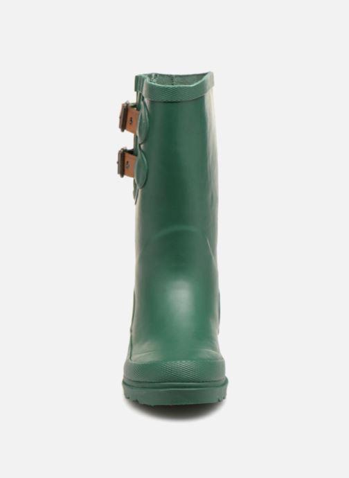 Bottes Pepe jeans Wet Buckle Vert vue portées chaussures