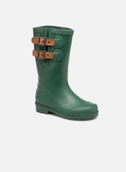 Bottes Pepe jeans Wet Buckle Vert vue détail/paire