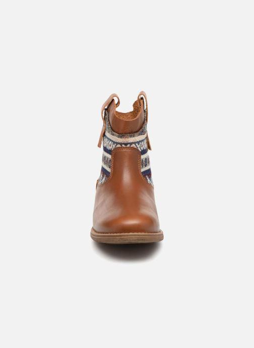 Bottines et boots Pepe jeans Anni Jackard Marron vue portées chaussures