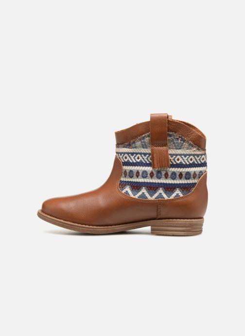 Bottines et boots Pepe jeans Anni Jackard Marron vue face