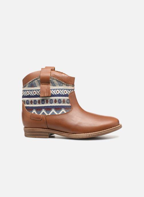 Bottines et boots Pepe jeans Anni Jackard Marron vue derrière