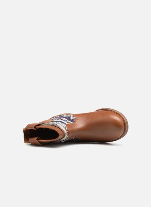 Bottines et boots Pepe jeans Anni Jackard Marron vue gauche