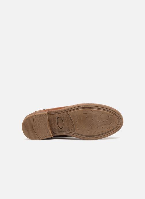 Bottines et boots Pepe jeans Anni Jackard Marron vue haut