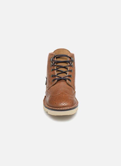 Bottines et boots Pepe jeans Alsaka Marron vue portées chaussures