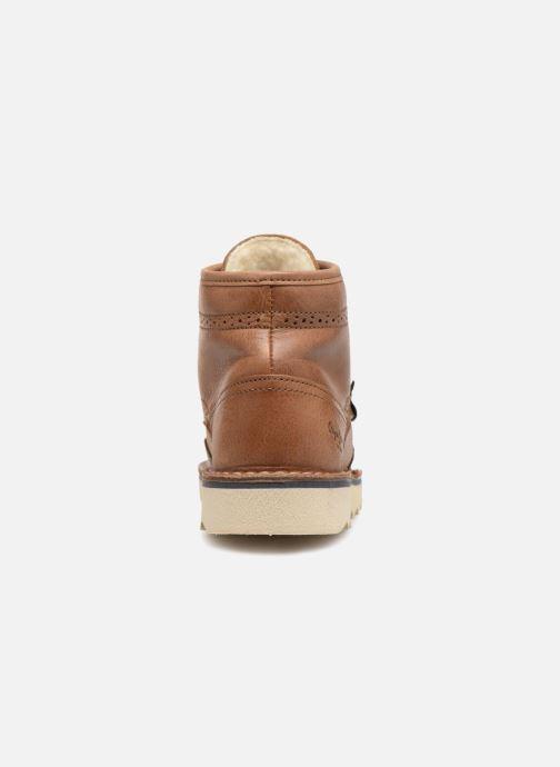 Bottines et boots Pepe jeans Alsaka Marron vue droite
