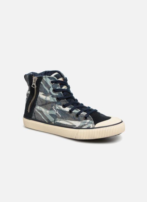 Baskets Pepe jeans Industry Jack Blue Bleu vue détail/paire