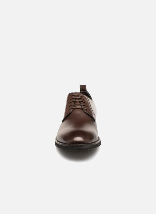 Zapatos con cordones Pepe jeans Hackney Derby Marrón vista del modelo