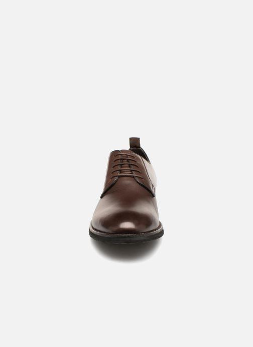 Chaussures à lacets Pepe jeans Hackney Derby Marron vue portées chaussures