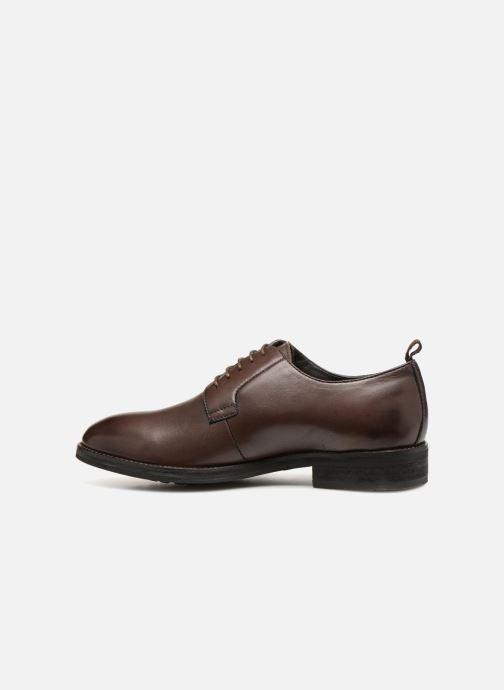 Zapatos con cordones Pepe jeans Hackney Derby Marrón vista de frente