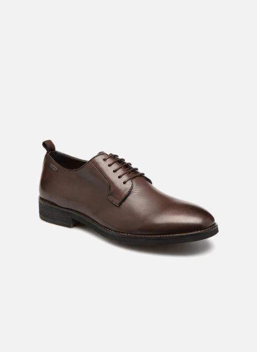 Chaussures à lacets Pepe jeans Hackney Derby Marron vue détail/paire