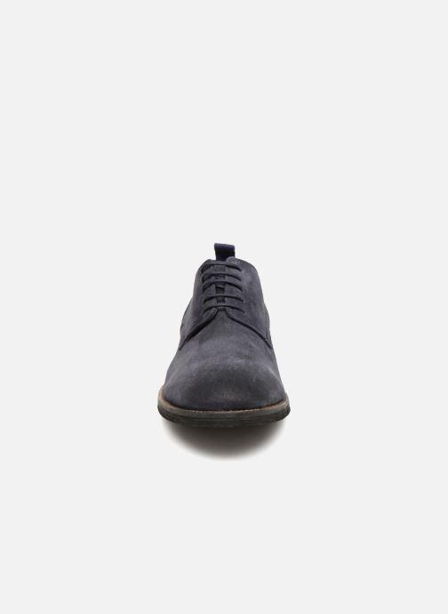 Zapatos con cordones Pepe jeans Hackney Rustic Azul vista del modelo