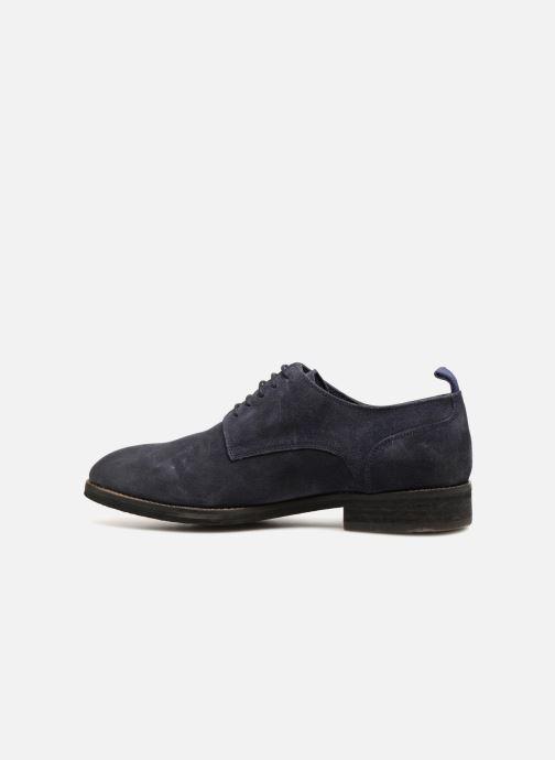 Zapatos con cordones Pepe jeans Hackney Rustic Azul vista de frente