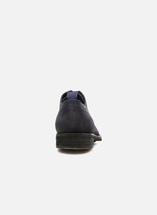 Veterschoenen Pepe jeans Hackney Rustic Blauw rechts