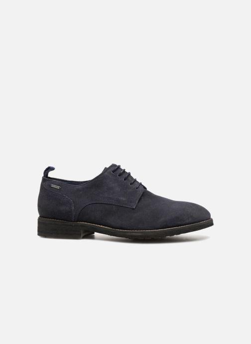 Zapatos con cordones Pepe jeans Hackney Rustic Azul vistra trasera