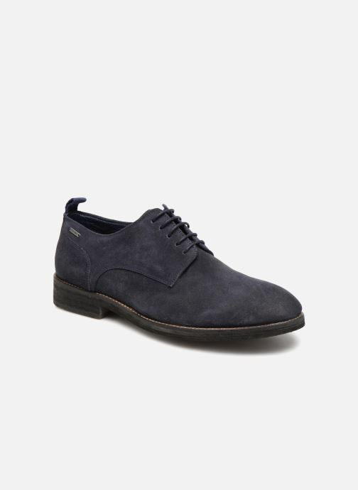 Chaussures à lacets Pepe jeans Hackney Rustic Bleu vue détail/paire