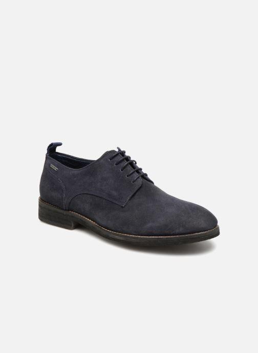 Zapatos con cordones Pepe jeans Hackney Rustic Azul vista de detalle / par