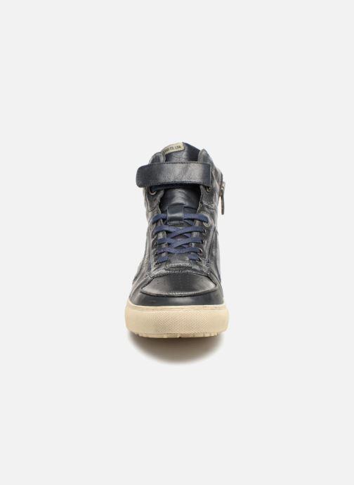 Baskets Pepe jeans Norwich Helmet Bleu vue portées chaussures