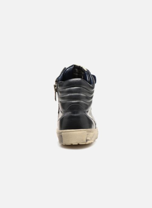 Trainers Pepe jeans Norwich Helmet Blue view from the right