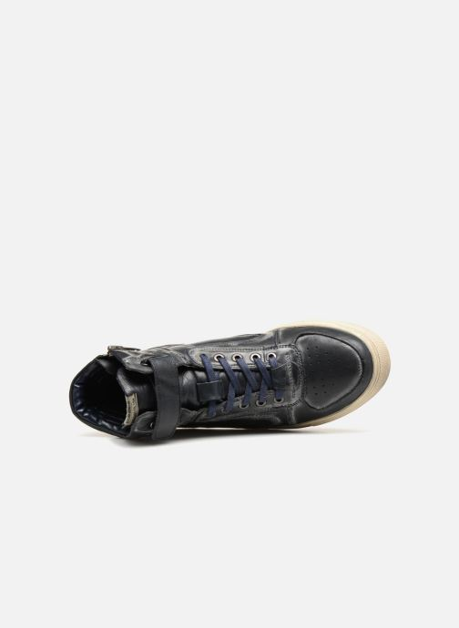 Trainers Pepe jeans Norwich Helmet Blue view from the left