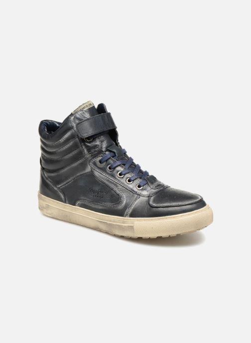 Baskets Pepe jeans Norwich Helmet Bleu vue détail/paire