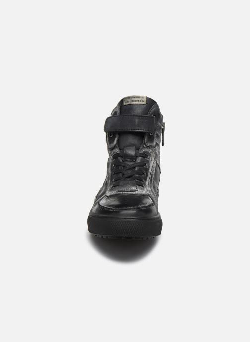 Baskets Pepe jeans Norwich Helmet Noir vue portées chaussures