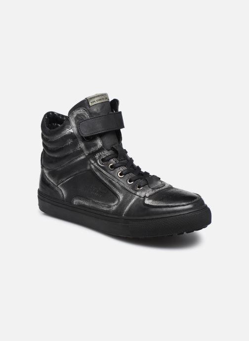 Baskets Pepe jeans Norwich Helmet Noir vue détail/paire