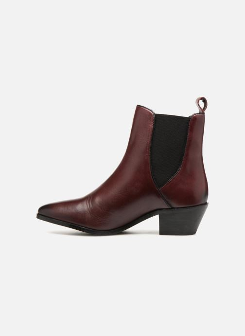 Bottines et boots Pepe jeans Dina Basic Bordeaux vue face